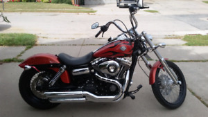 REDUCED TO HALF PRICE !!2011 FXDWG DYNA WIDE GLIDE 9000 KLM'S