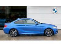 2021 BMW 2 Series 218i [2.0] M Sport 2dr [Nav] Petrol Coupe Coupe Petrol Manual