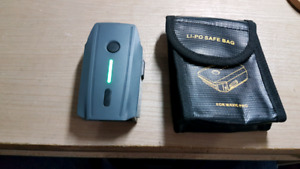 Like New: Dji Mavic Pro Battery with Lipo-Safe Case