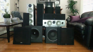 Home Theater System  c/w AV Surround Receiver