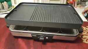 T-FAL TWO WAY REVERSIBLE TRAY! PANCAKE AND GRILL! GOOD CONDITION