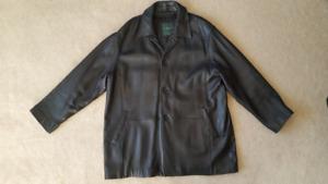 Danier Men's Leather Coat / Jacket XXL