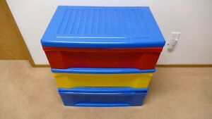 Kids storage container with drawers asking $15 OBO