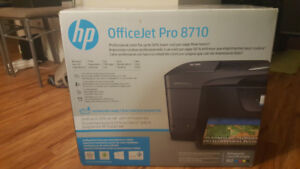 HP OfficeJet Pro 8710 Wireless Printer With Ink and Paper