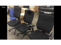 6 x branded connection office swivel chairs!!