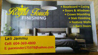 Carpenter finisher(Royal touch finshing)