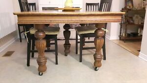 Antique Oak table (107+years old)