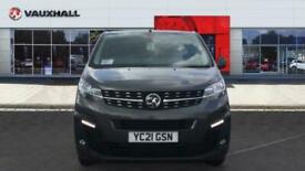2021 Vauxhall Vivaro L1 Diesel 2700 1.5d 100PS Sportive H1 Van Van Diesel Manual