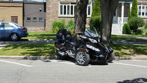 Can am spyder RT limited 2013