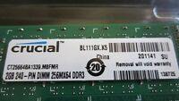 DDR3 crucial 1333 mhz