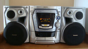 Panasonic SA-AK 500 music system for sale.