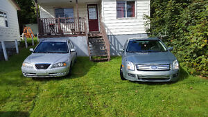 2 cars for sale either repair or parts