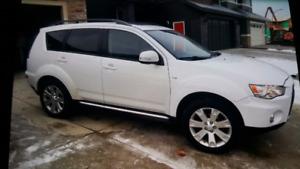 2012 Mitsubishi Outlander (AWD ) GT  for sale