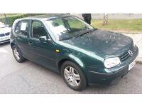 Volkswagen Golf £900 Metalic Green