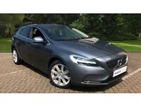 2017 Volvo V40 D4 Inscription Auto With Winte Automatic Diesel Hatchback