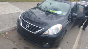 2012 Versa CVT, one owner, fuel economy, very clean, no rust