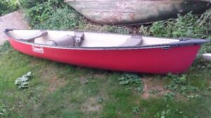 15.5' Coleman Canoe For Sale