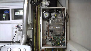 Navien tank less water heater used parts CR-210 A