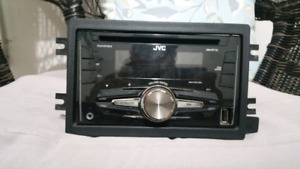 JVC doubled in audio deck