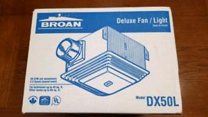 Broan Deluxe Fan/Light