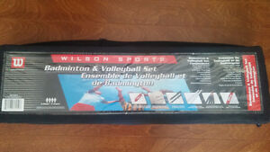 Badminton & Volleyball set - Wilson sports $15