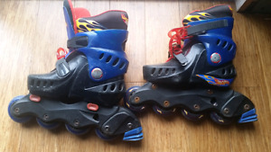 Hot Wheels roller skates