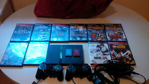 SELLING PS2, Good Condition + 10 Games