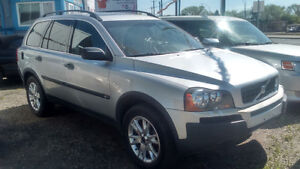 2003 Volvo XC90 T6 SUV, AWD FULLY LOADED LEATHER 7 SEATERS