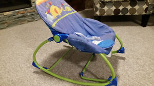 Virbrating Rocking Baby chair Kitchener / Waterloo Kitchener Area image 3