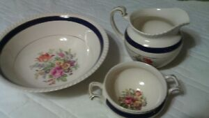 Johnson Bros. Old English Bowl, Jug and Dish Set
