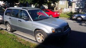 2003 Subaru Forester X Wagon