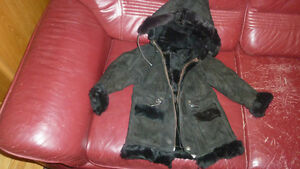 New Genuine Sheepskin Coat