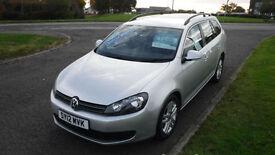 Volkswagen Golf 1.6TDI Estate Car 2012,SE,1 Owner,Alloys,Air Con,Cruise,F.S.H