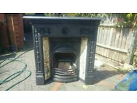 Stovax Combination tiled cast iron fireplace fire surround