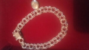 Fancy silver bracelet and locket affordable gift idea