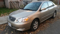 2004 Toyota Corolla LE Sedan very good condition