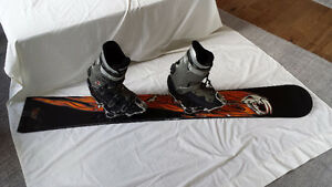 Volkl Alpine Snowboard and Trenchdigger 2 Binding
