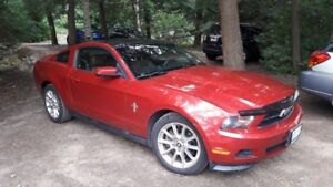 2011 Ford Mustang Coupe with Moon Roof