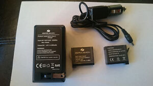 Generic (ZeroLemon) GoPro Batteries and Wall/Car Charger