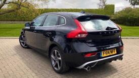 2014 Volvo V40 T4 R-Design Lux Nav With Panor Manual Petrol Hatchback
