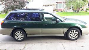 2000 Subaru Outback AWD - accident-free