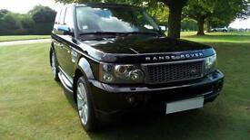 *SOLD* 2007 LHD L R Range Rover Sport 2.7TD V6 auto 2007MY HSE LEFT HAND DRIVE