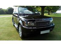 2007 LHD Land Rover Range Rover Sport 2.7TD V6 auto 2007MY HSE LEFT HAND DRIVE