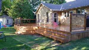 Spring time is here get booked with: Bos Decks and Fences London Ontario image 10