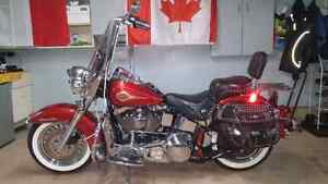 Harley softail take off parts
