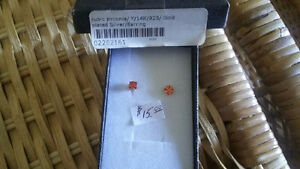 CUBIC ZIRCONIA / 925 STERLING  EARRINGS