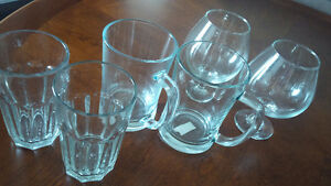 6 Big Perfect Glasses - for sale ! Kitchener / Waterloo Kitchener Area image 1