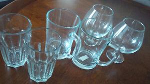 6 Big Perfect Glasses - for sale ! Kitchener / Waterloo Kitchener Area image 2
