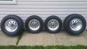 Set Of Drag Lites And Mickey Thompson Tires