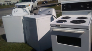 Used appliances and more!